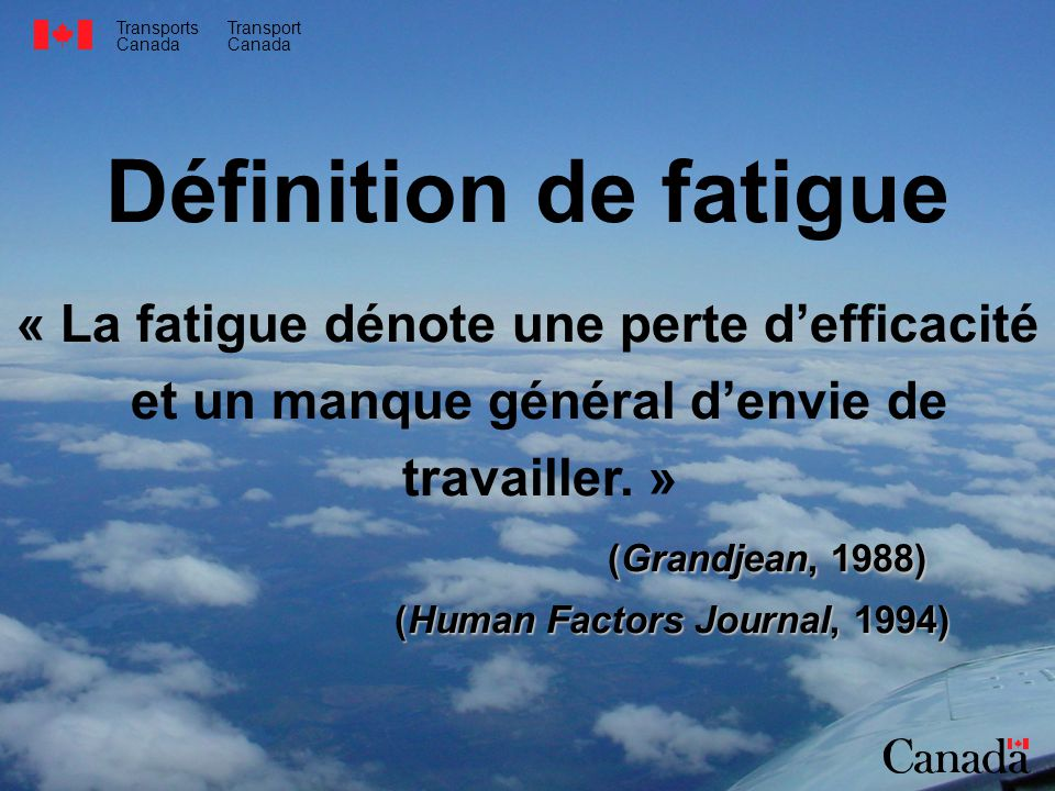 (Grandjean, 1988) (Human Factors Journal, 1994)