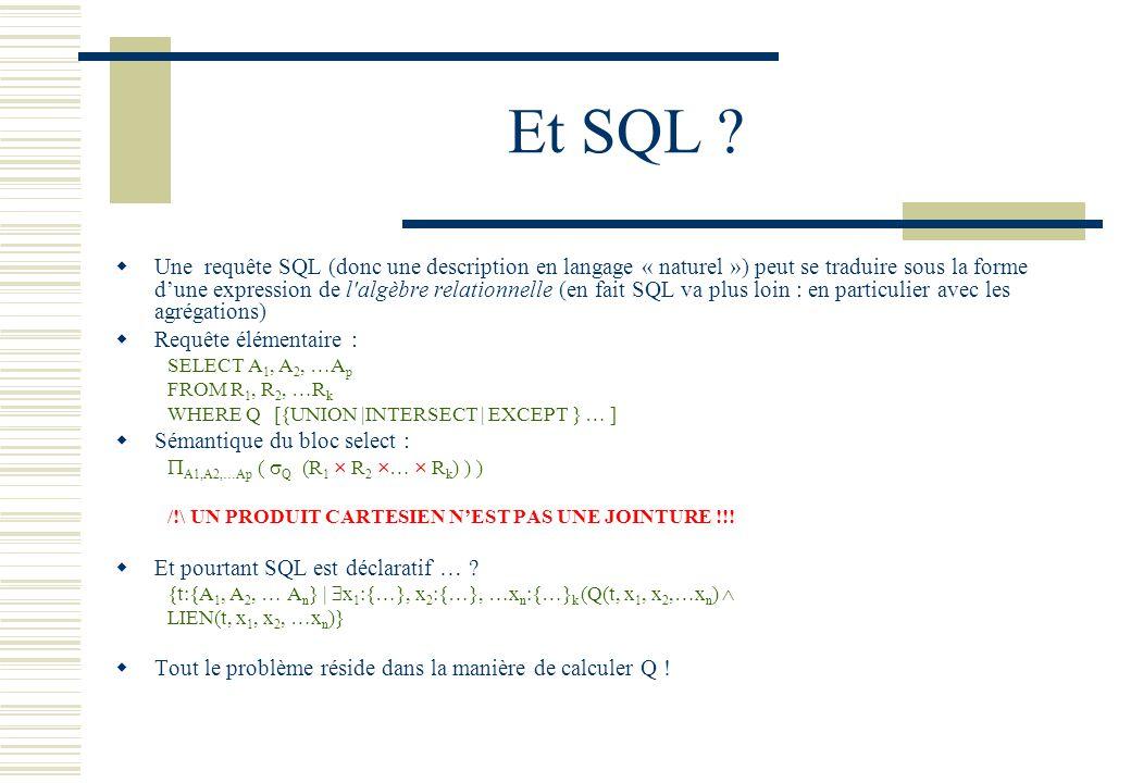 Et SQL