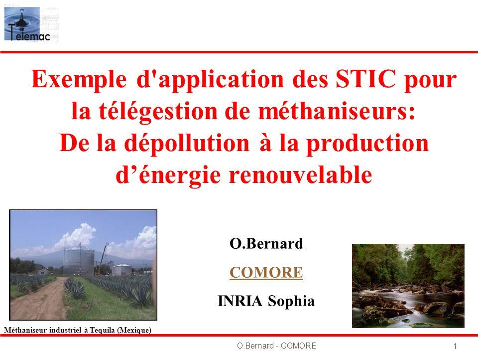 Exemple d application des STIC pour la télégestion de méthaniseurs: