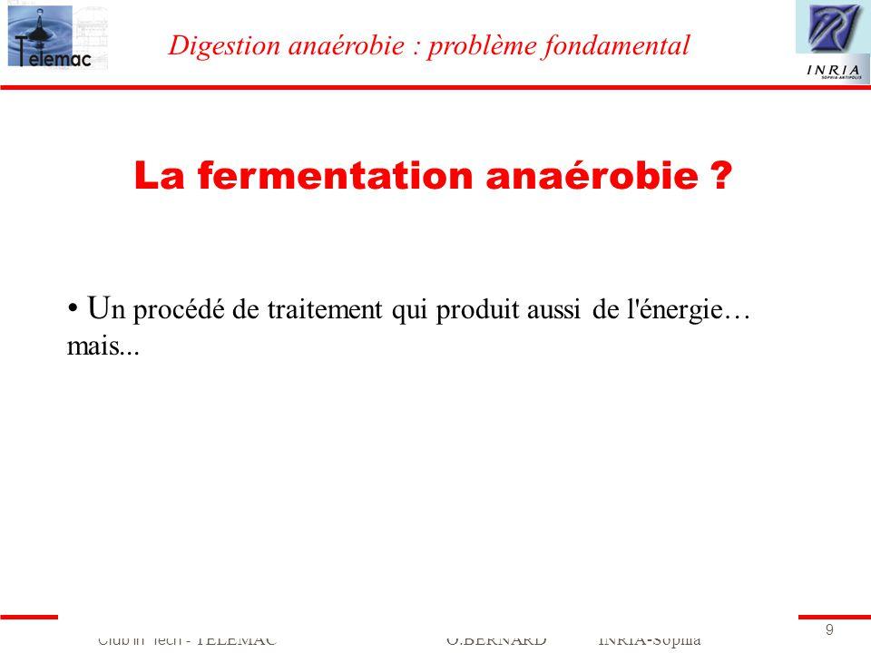 La fermentation anaérobie