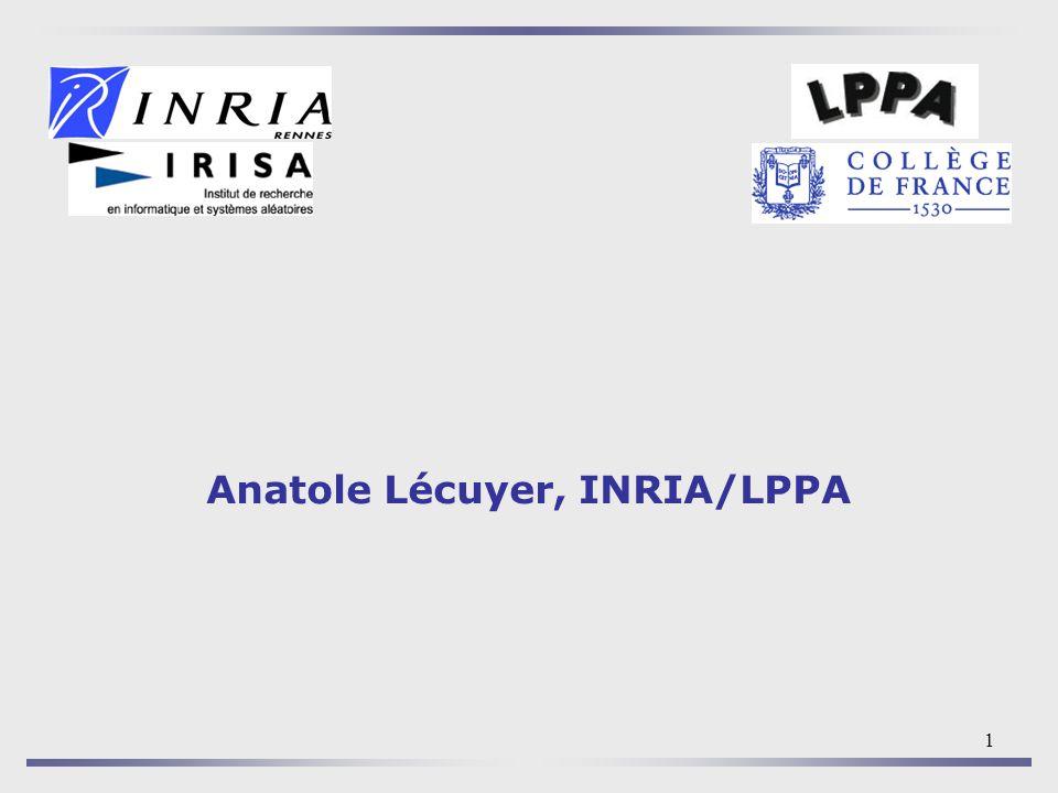 Anatole Lécuyer, INRIA/LPPA