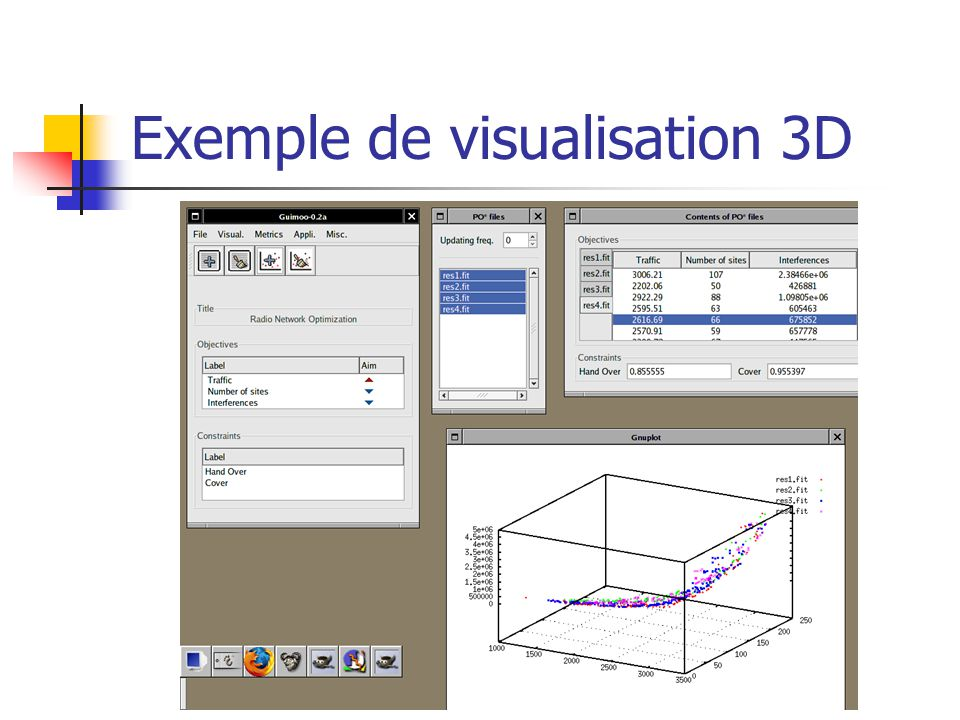 Exemple de visualisation 3D