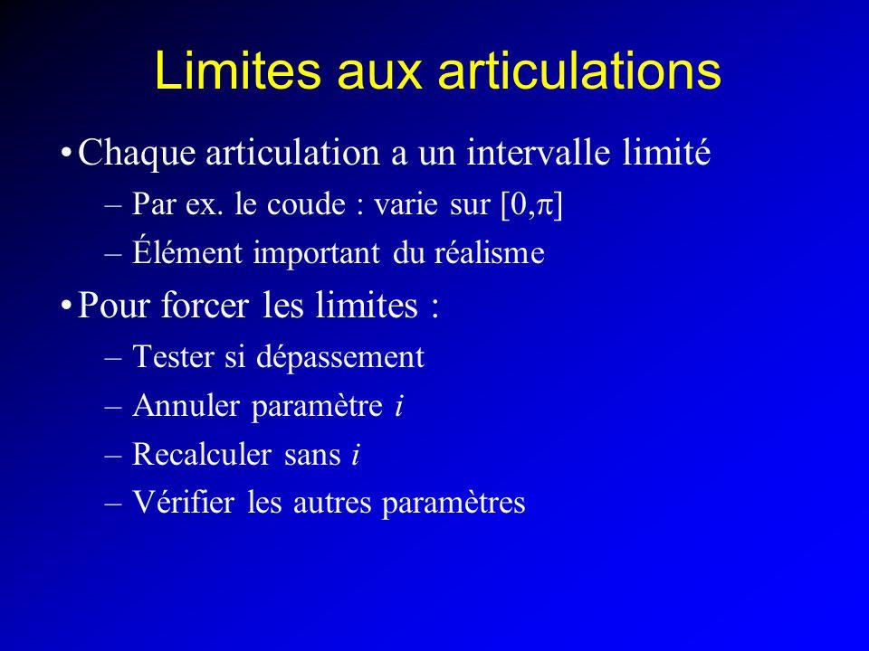 Limites aux articulations