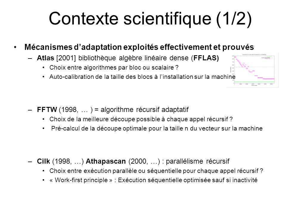 Contexte scientifique (1/2)