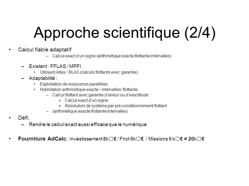 Approche scientifique (2/4)