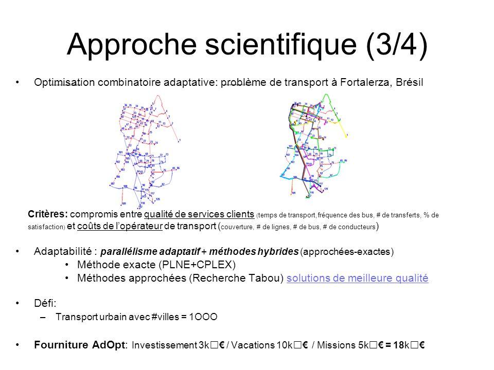 Approche scientifique (3/4)