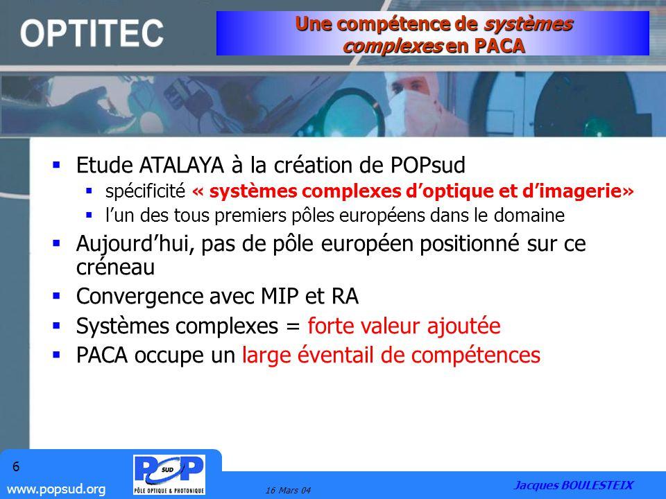 Une compétence de systèmes complexes en PACA