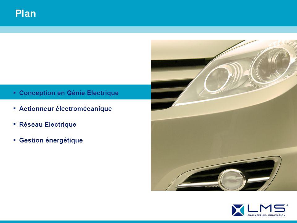 Plan Conception en Génie Electrique Actionneur électromécanique