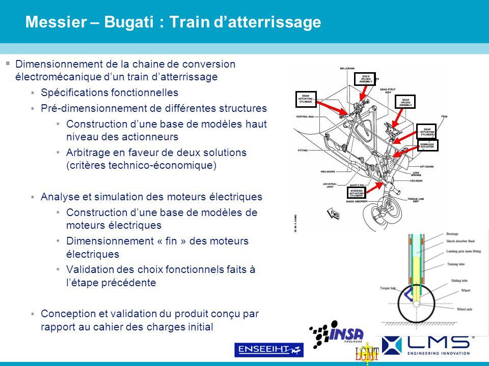 Messier – Bugati : Train d'atterrissage
