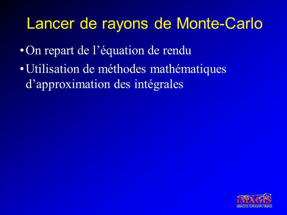 Lancer de rayons de Monte-Carlo