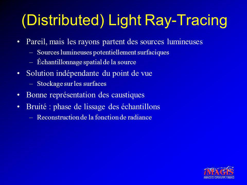 (Distributed) Light Ray-Tracing