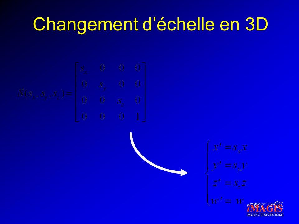 Changement d'échelle en 3D