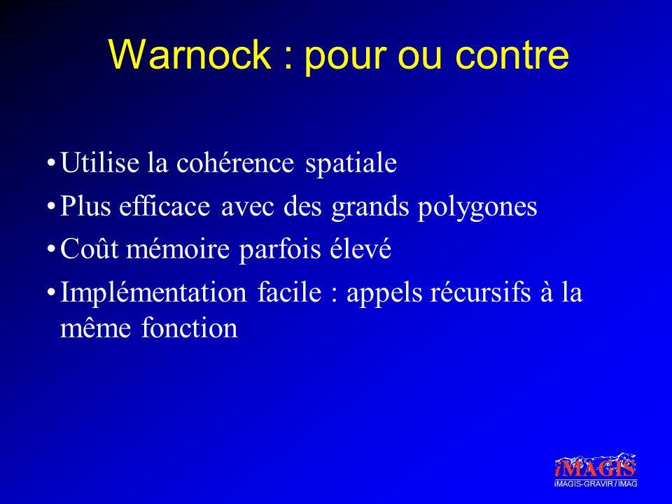 Warnock : pour ou contre