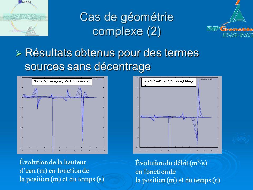 Cas de géométrie complexe (2)