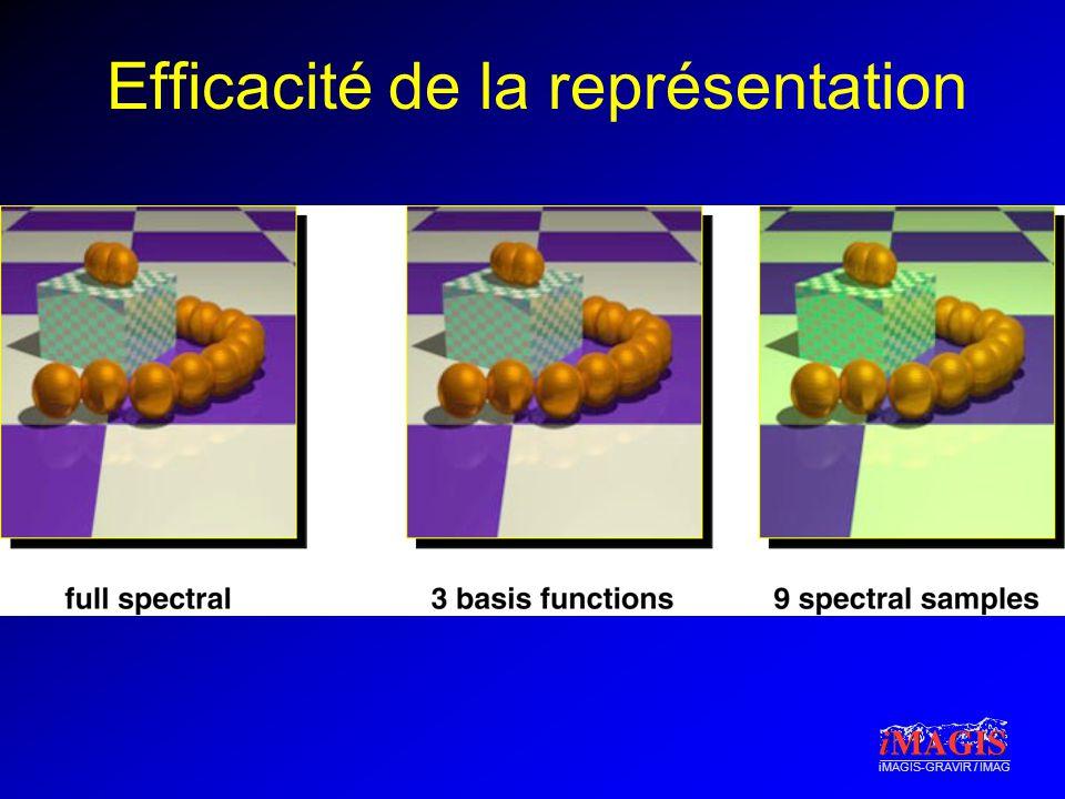 Efficacité de la représentation