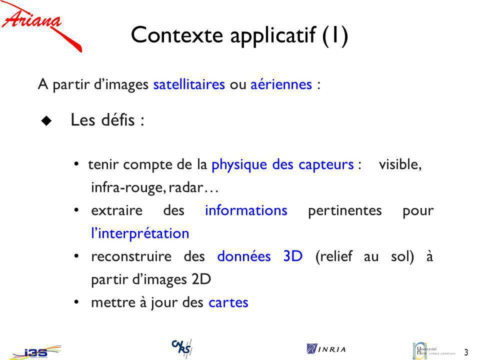 Contexte applicatif (1)