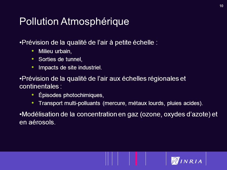 Pollution Atmosphérique