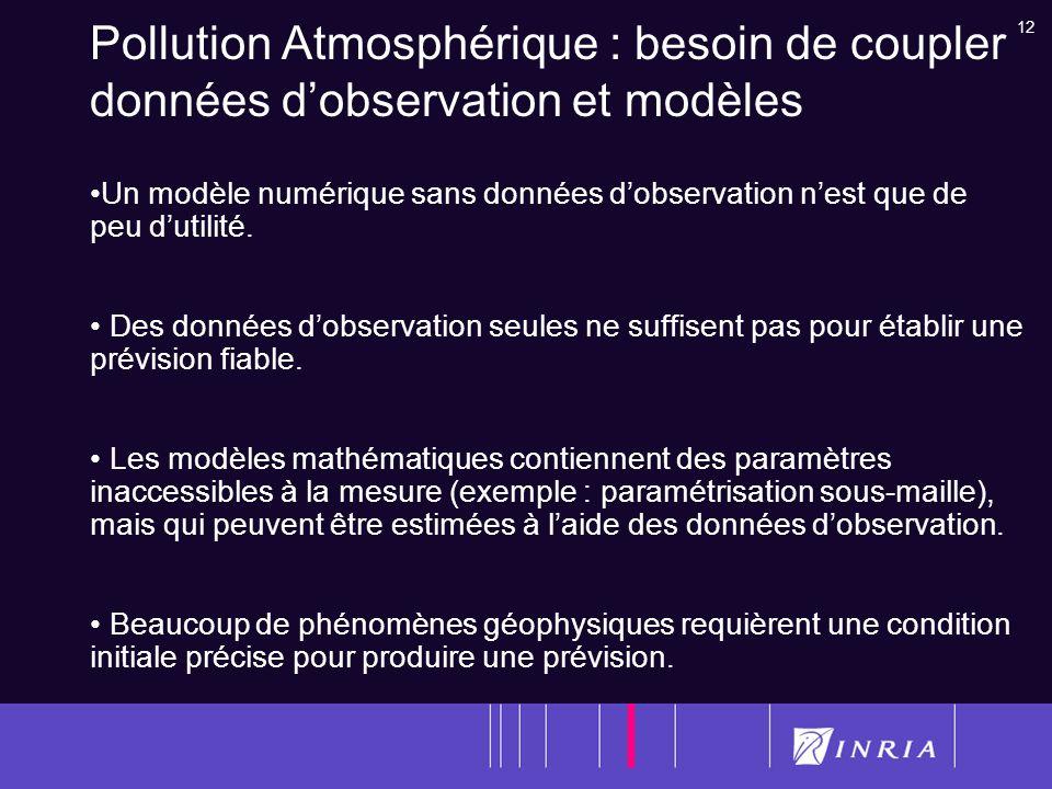 Pollution Atmosphérique : besoin de coupler données d'observation et modèles