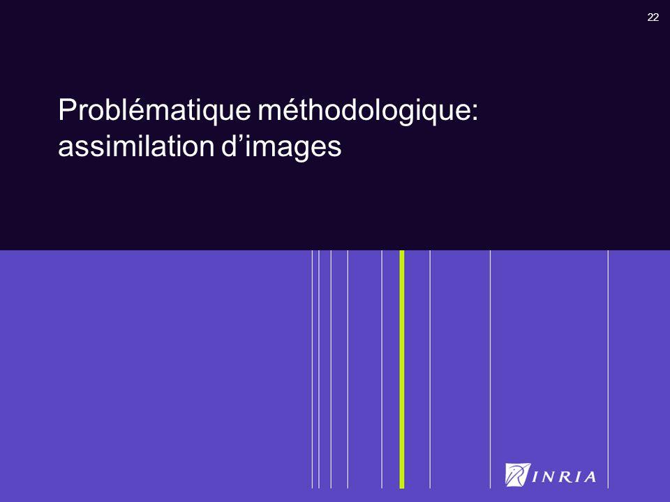 Problématique méthodologique: assimilation d'images