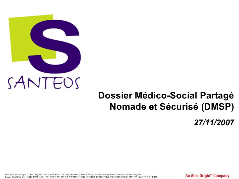 Dossier Médico-Social Partagé Nomade et Sécurisé (DMSP)