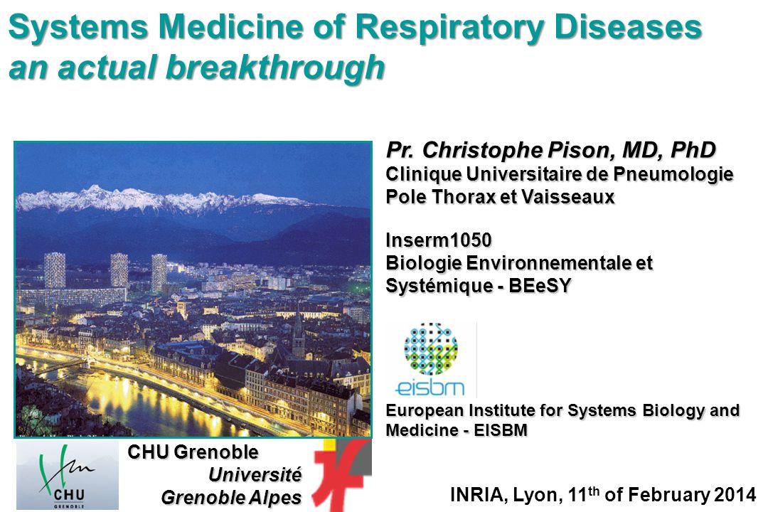 Systems Medicine of Respiratory Diseases an actual breakthrough