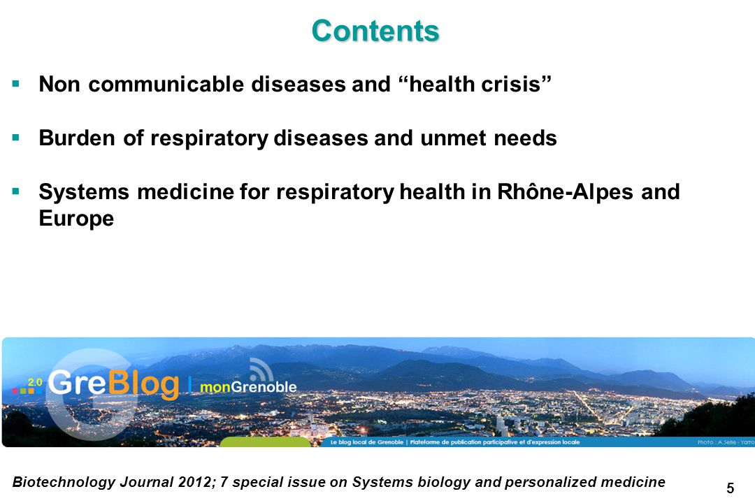 Contents Non communicable diseases and health crisis