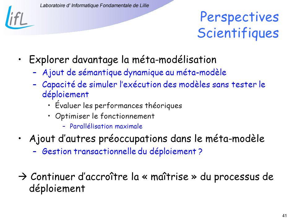 Perspectives Scientifiques