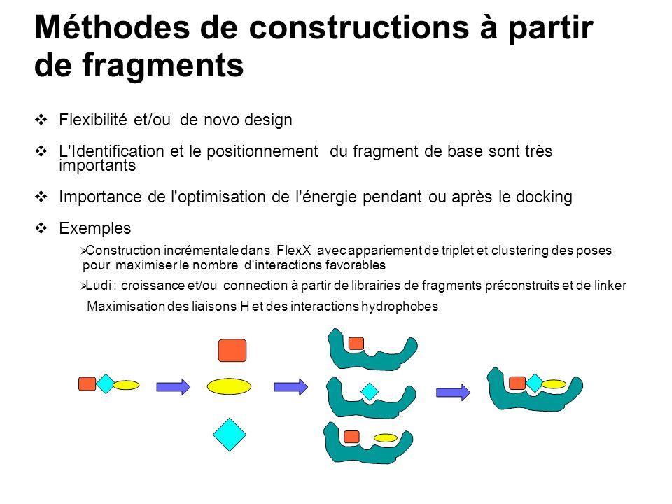 Méthodes de constructions à partir de fragments