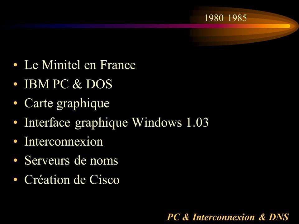 PC & Interconnexion & DNS