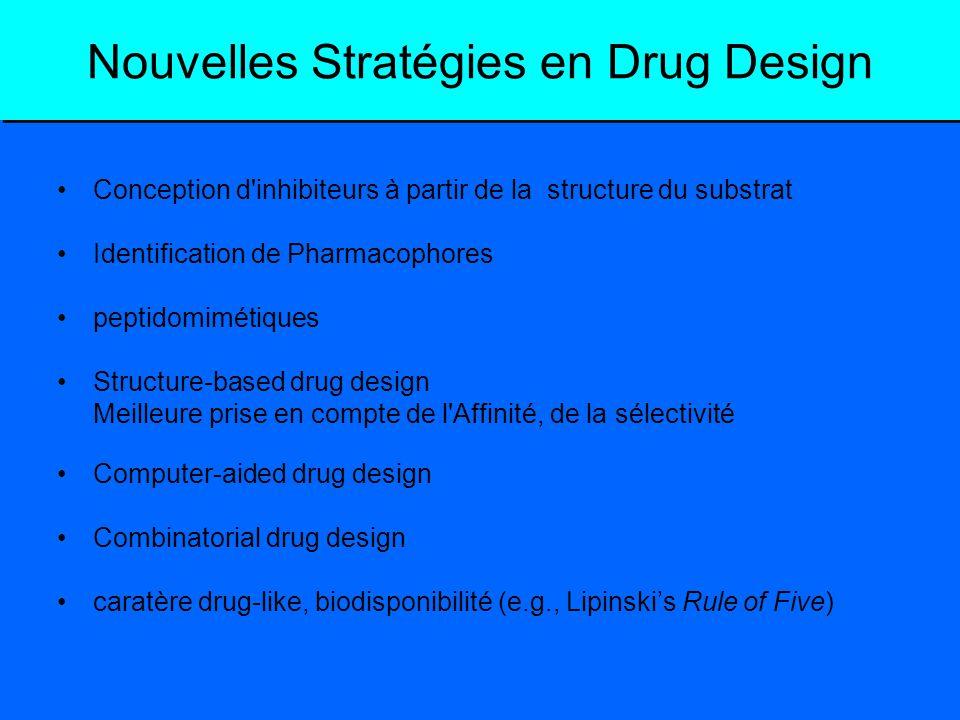 Nouvelles Stratégies en Drug Design
