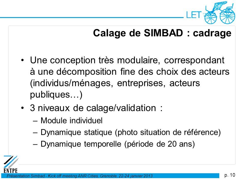 Calage de SIMBAD : cadrage