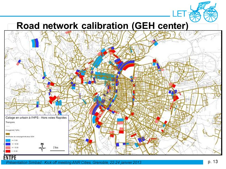 Road network calibration (GEH center)