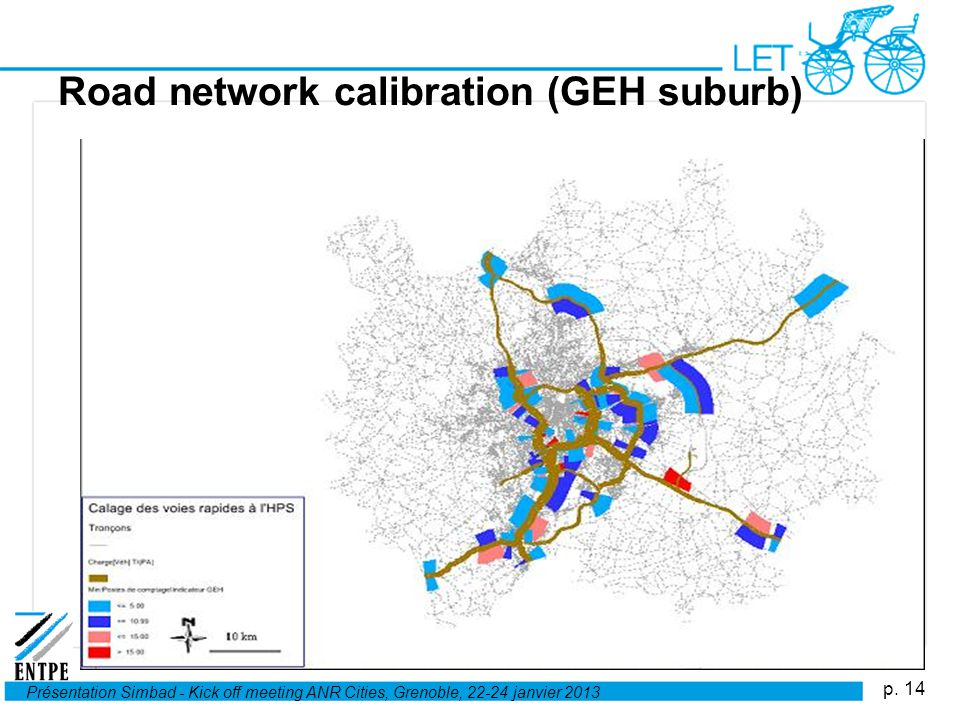 Road network calibration (GEH suburb)