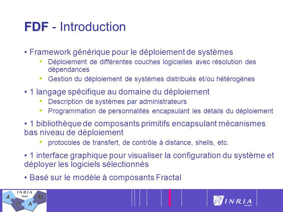 FDF - Introduction Framework générique pour le déploiement de systèmes