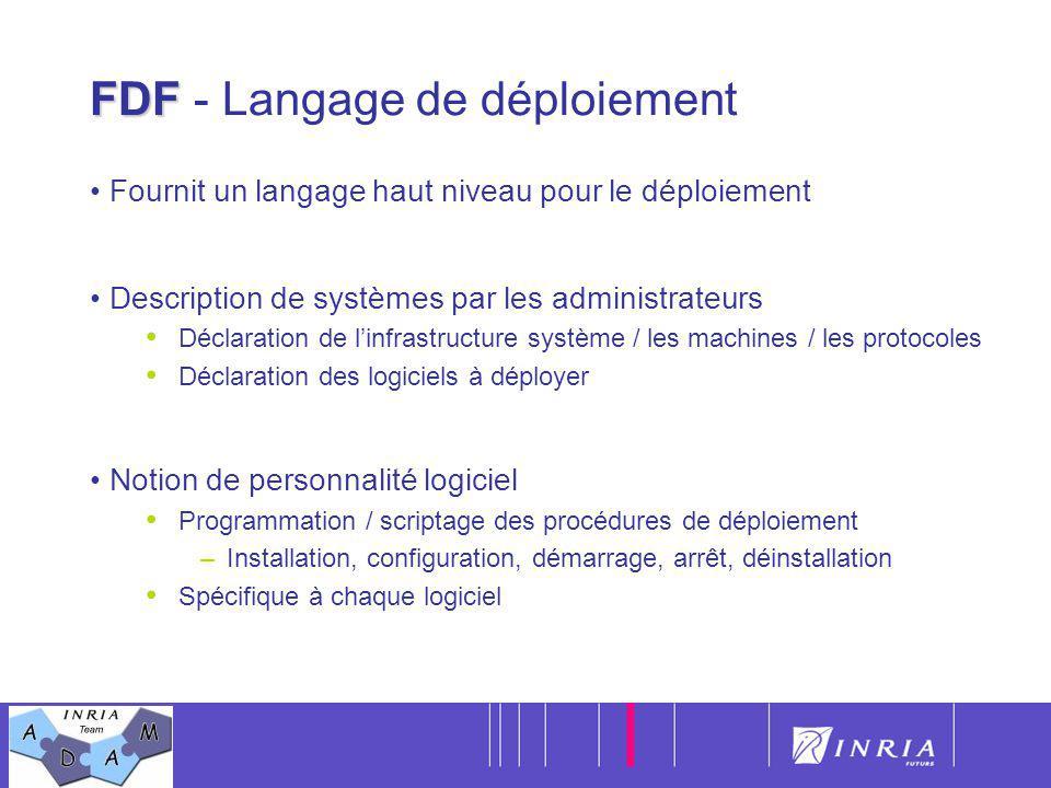 FDF - Langage de déploiement