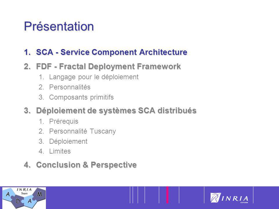 Présentation SCA - Service Component Architecture