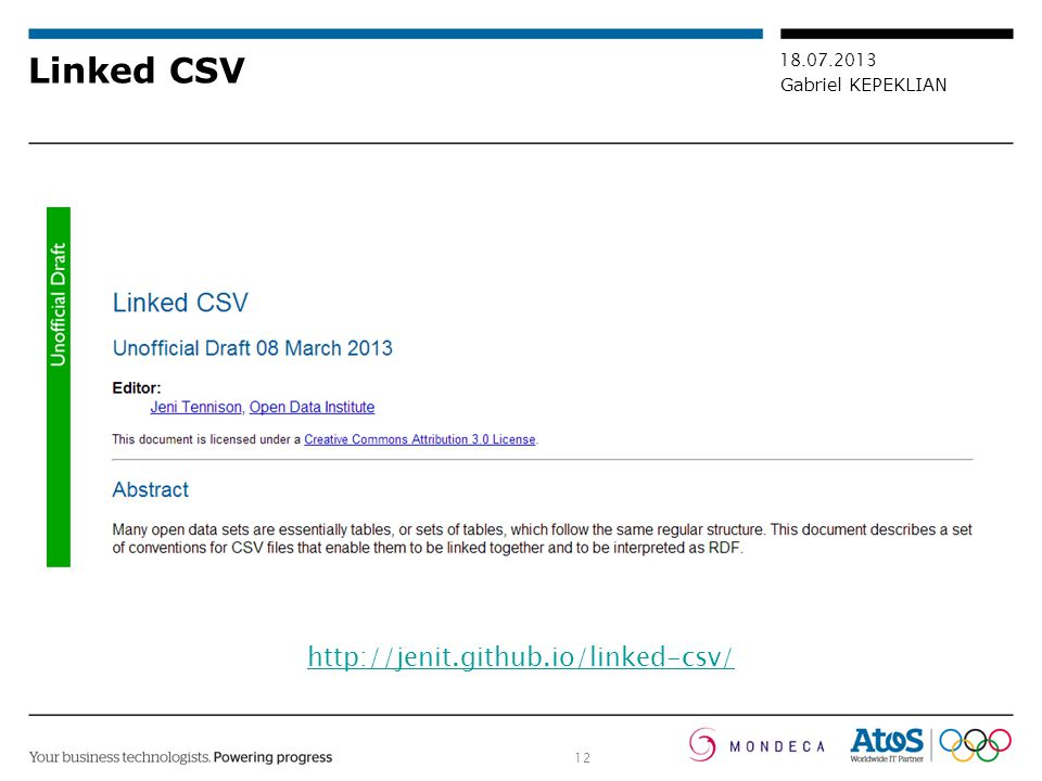 Linked CSV http://jenit.github.io/linked-csv/