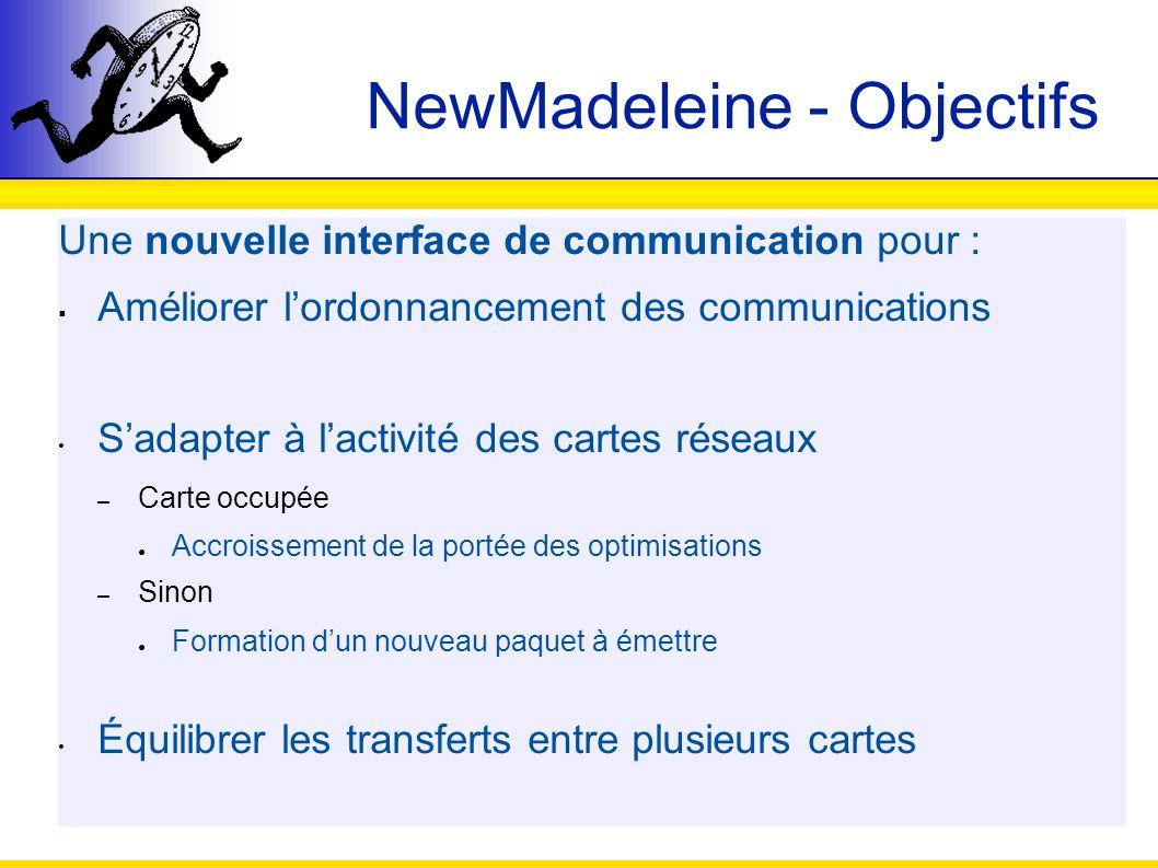 NewMadeleine - Objectifs