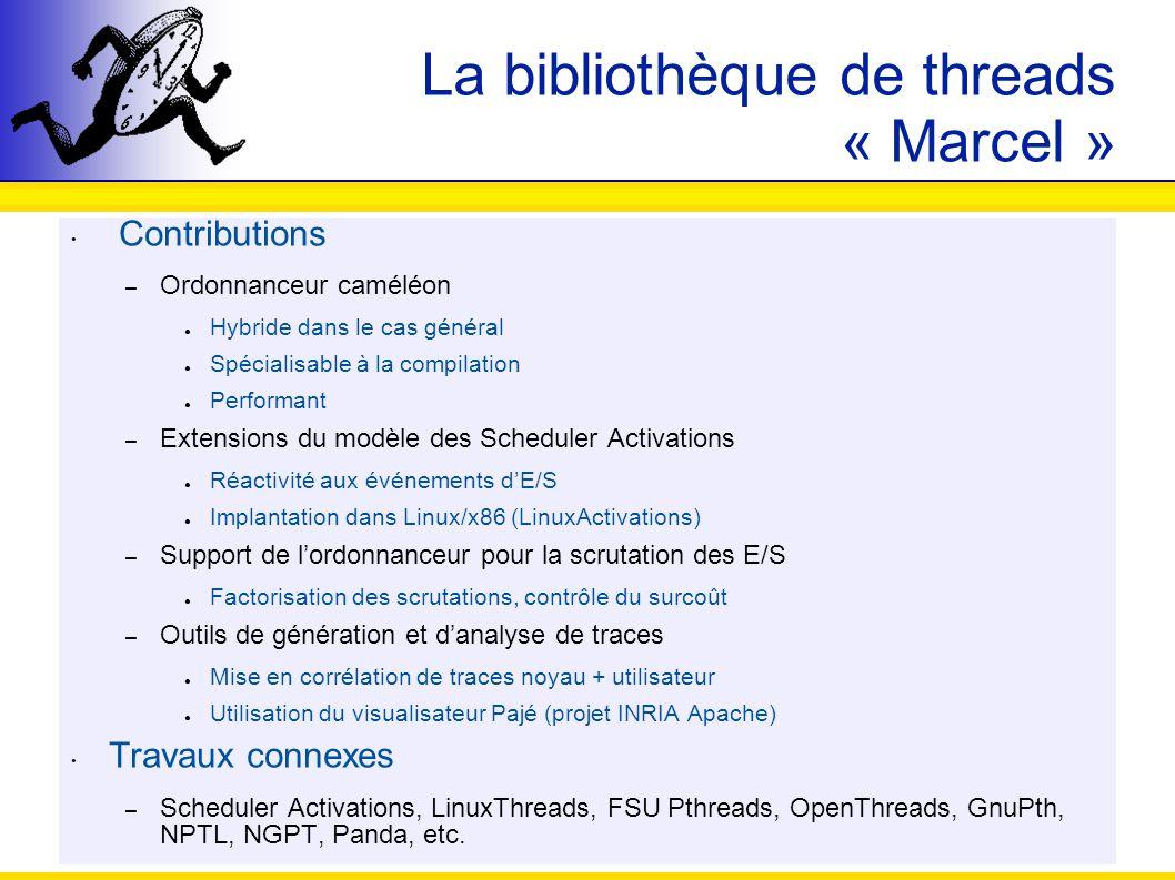 La bibliothèque de threads « Marcel »