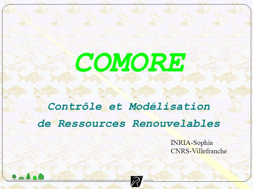 COMORE Contrôle et Modélisation de Ressources Renouvelables
