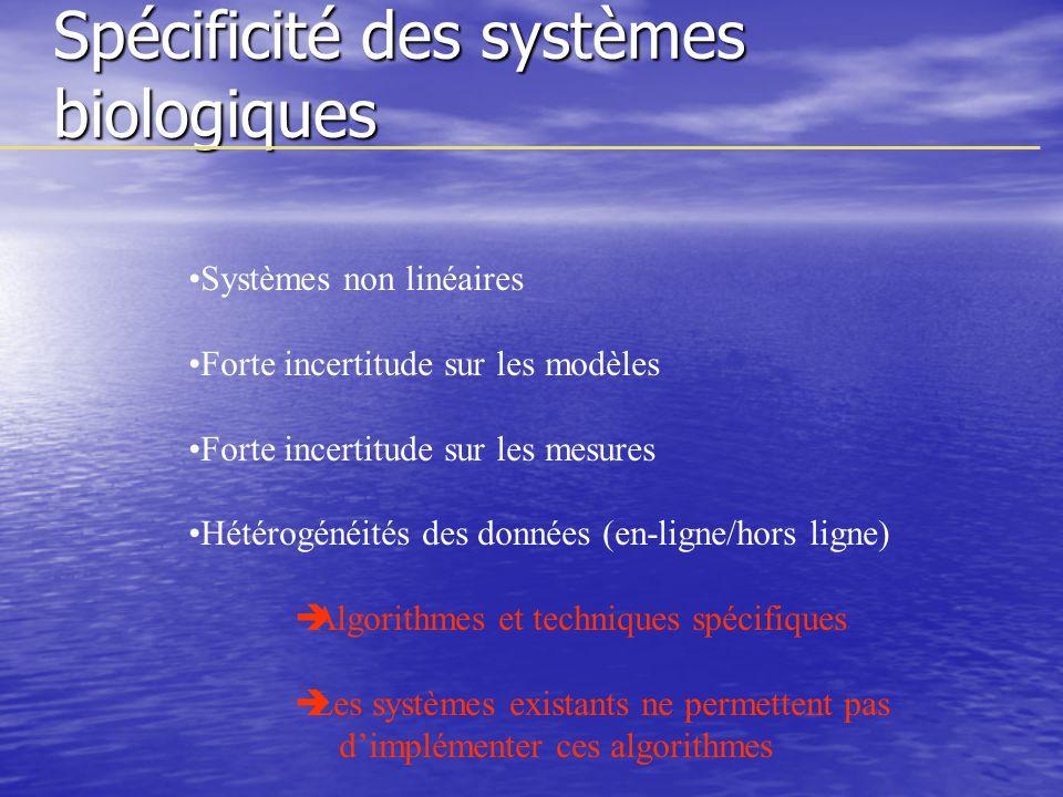 Spécificité des systèmes biologiques