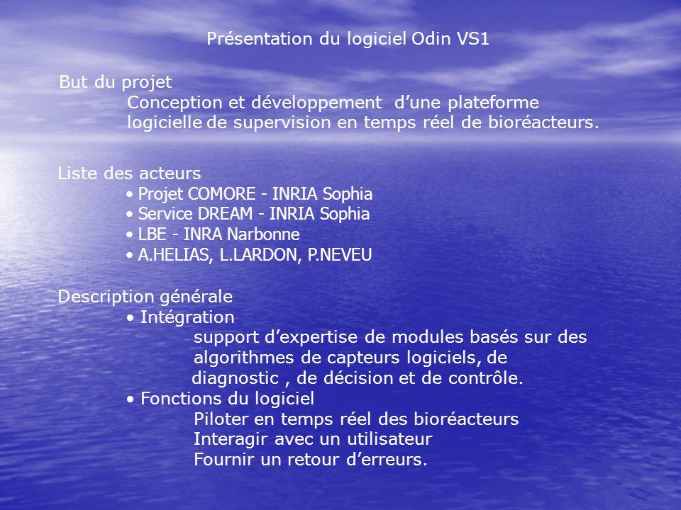 Présentation du logiciel Odin VS1