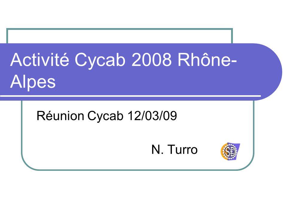 Activité Cycab 2008 Rhône-Alpes