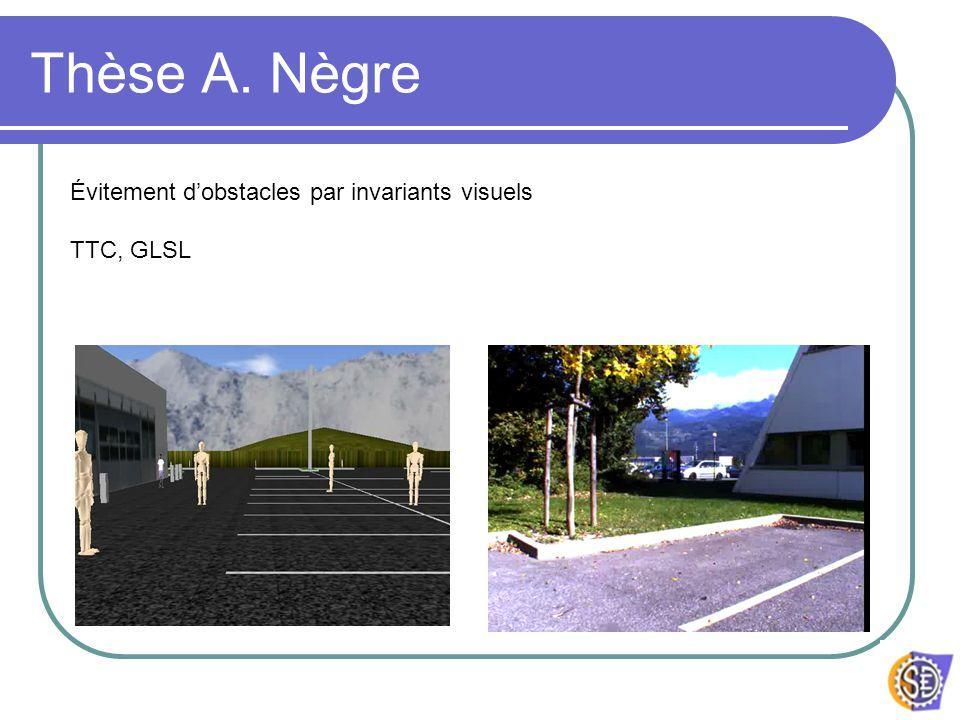 Thèse A. Nègre Évitement d'obstacles par invariants visuels TTC, GLSL