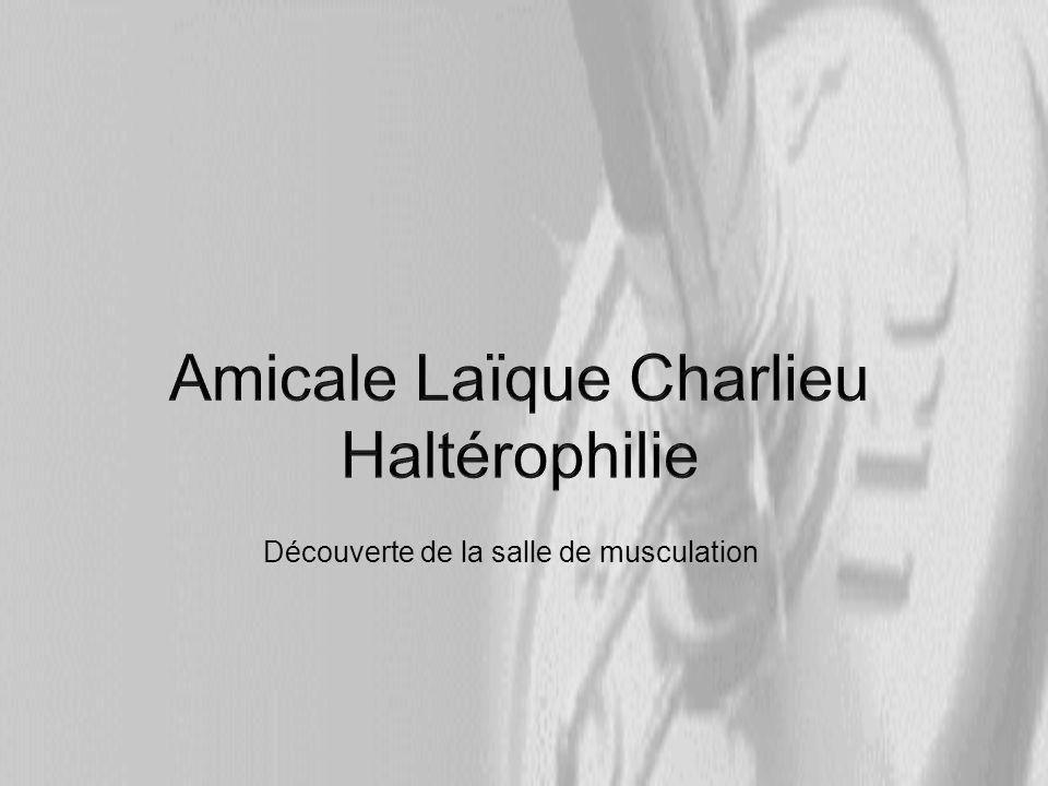 Amicale Laïque Charlieu Haltérophilie