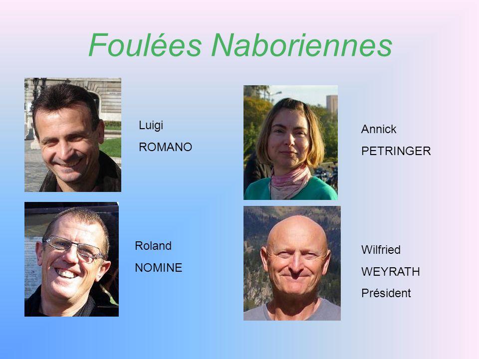 Foulées Naboriennes Luigi Annick ROMANO PETRINGER Roland Wilfried