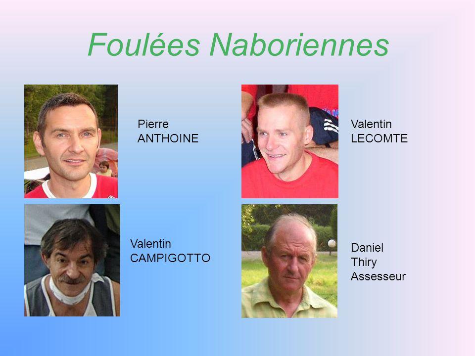Foulées Naboriennes Pierre ANTHOINE Valentin LECOMTE Valentin