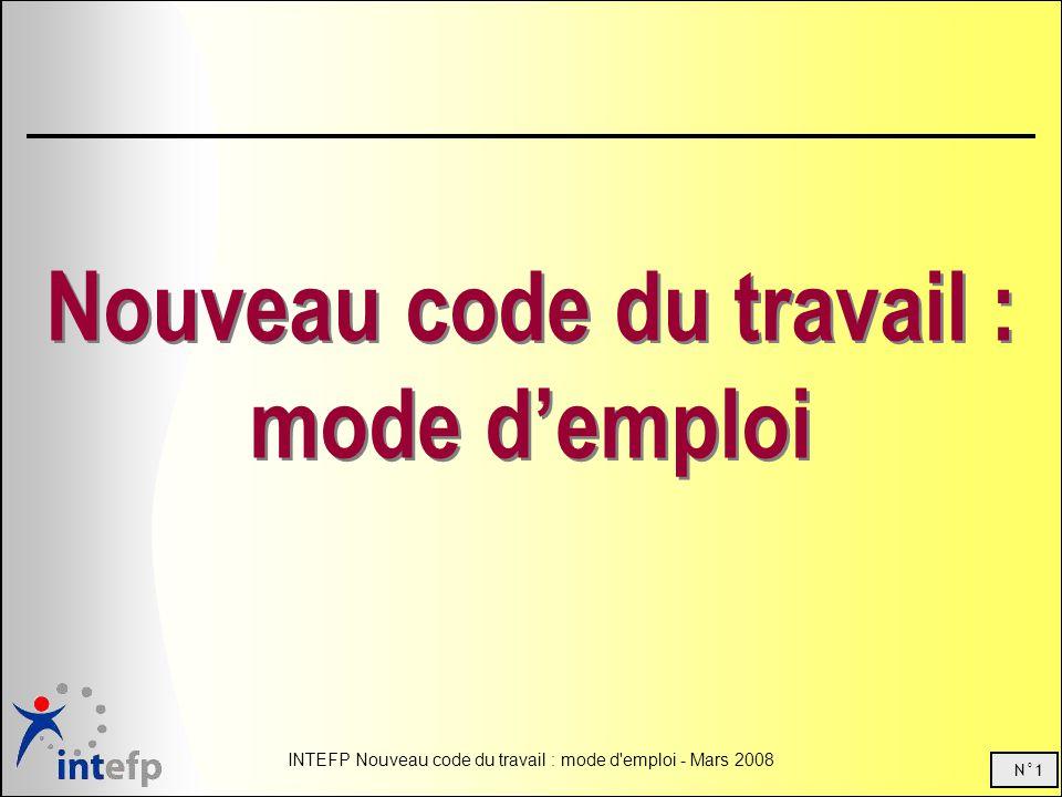 Nouveau code du travail : mode d'emploi