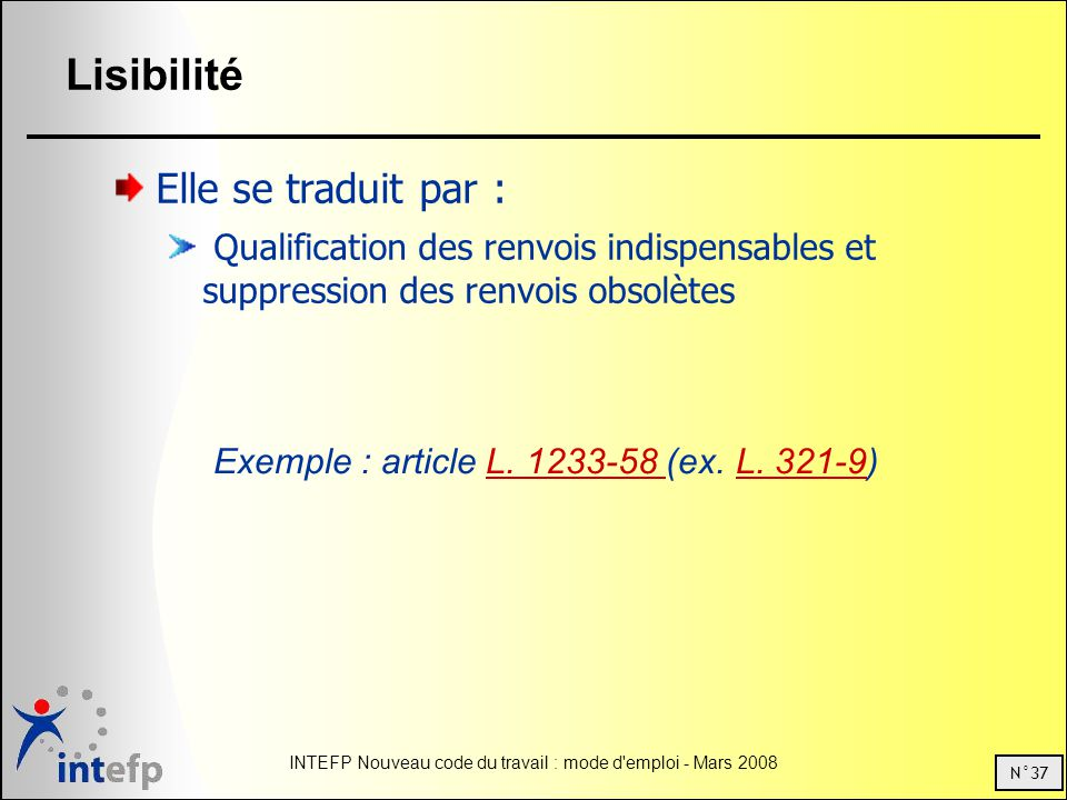 Exemple : article L. 1233-58 (ex. L. 321-9)