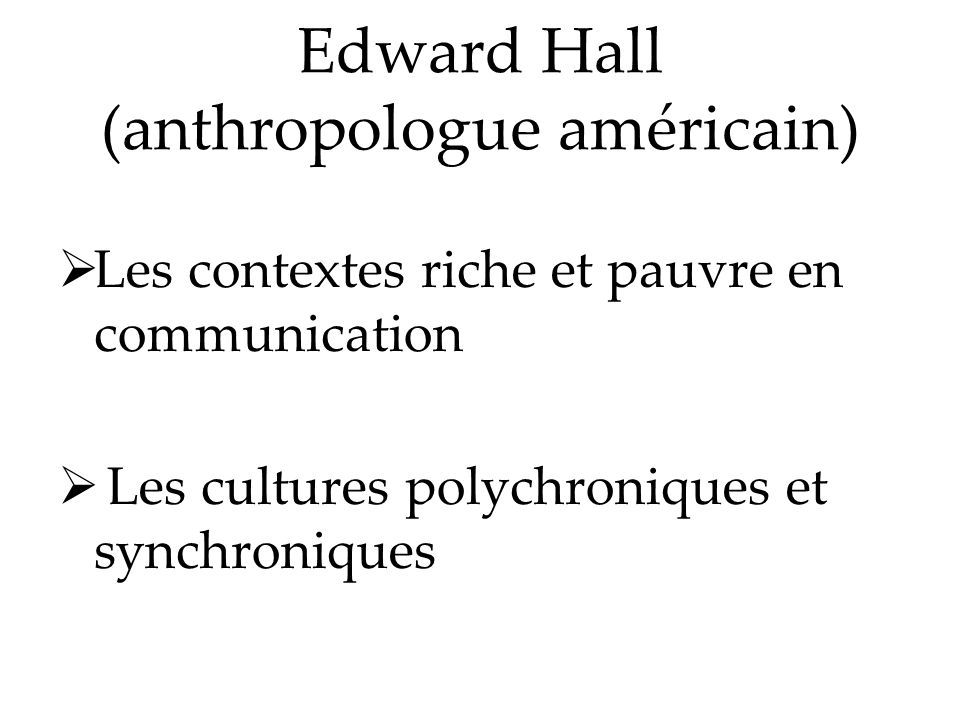 Edward Hall (anthropologue américain)